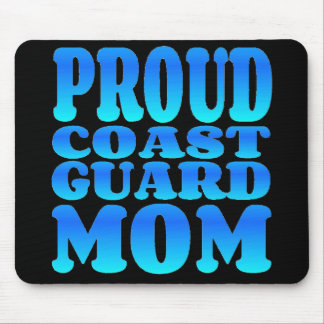 Proud Coast Guard Mom Mouse Pad