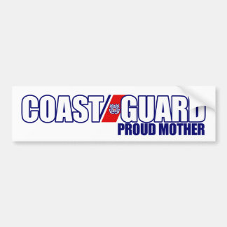 Proud Coast Guard Mother Bumper Sticker