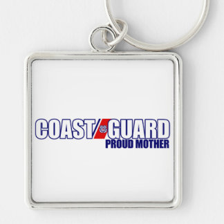 Proud Coast Guard Mother Key Chains