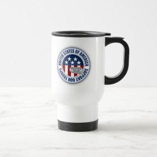 Proud Coast Guard Mother Mug
