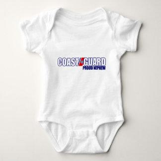 Proud Coast Guard Nephew Baby Bodysuit