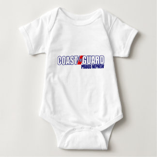 Proud Coast Guard Nephew Baby Bodysuit