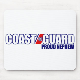 Proud Coast Guard Nephew Mousepads