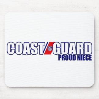 Proud Coast Guard Niece Mousepads