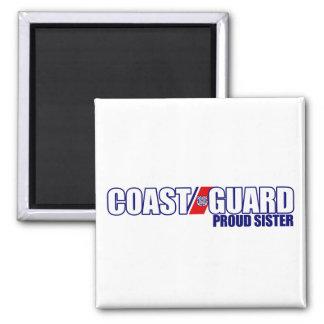 Proud Coast Guard Sister Magnet