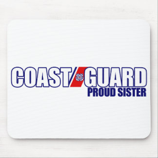 Proud Coast Guard Sister Mouse Pad
