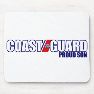 Proud Coast Guard Son Mouse Pad