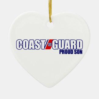 Proud Coast Guard Son Ornaments