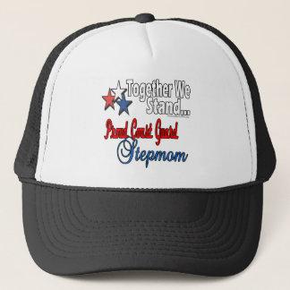 Proud Coast Guard Stepmom Trucker Hat