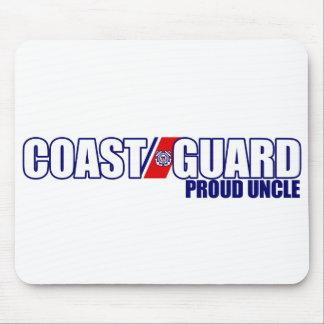 Proud Coast Guard Uncle Mouse Pads