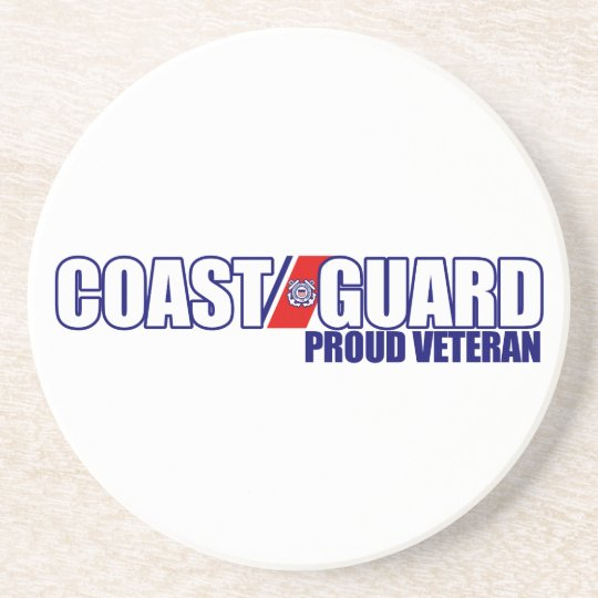 Proud Coast Guard Veteran Coaster