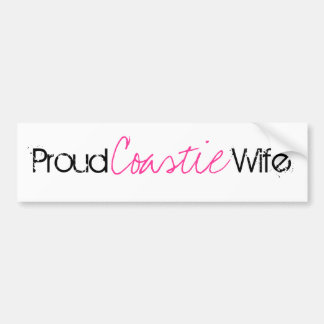 Proud Coast Guard Wife Bumper Sticker