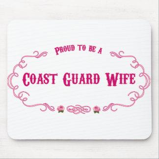 Proud Coast Guard Wife Mouse Pad
