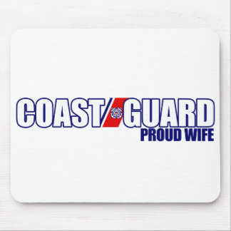 Proud Coast Guard Wife Mouse Pad