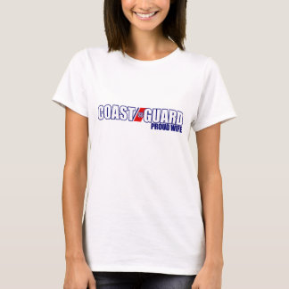 Proud Coast Guard Wife T-Shirt