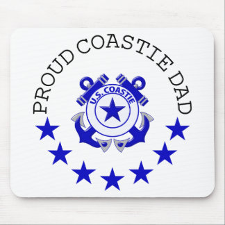 Proud Coastie Dad Mouse Pad