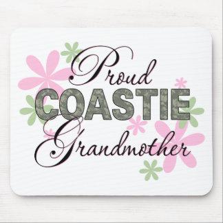 Proud Coastie Grandmother Camo Mouse Pad