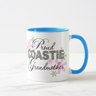 Proud Coastie Grandmother Camo Mug