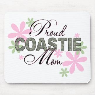Proud Coastie Mom Camo Mouse Pad