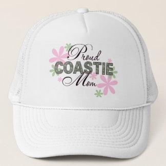 Proud Coastie Mom Camo Trucker Hat
