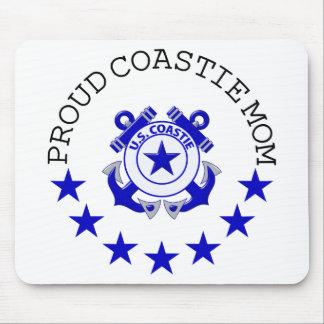 Proud Coastie Mom Mouse Pad