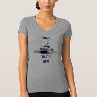 Proud Coastie Mom V2 / Boat Tee Shirt