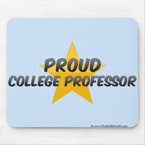 Proud College Professor Mouse Pad