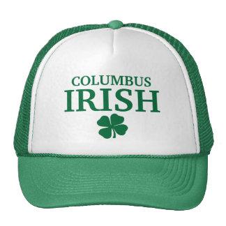 Proud COLUMBUS IRISH! St Patrick's Day Trucker Hat
