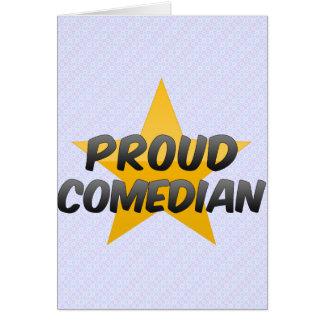 Proud Comedian Card