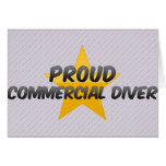 Proud Commercial Diver Greeting Card