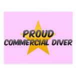 Proud Commercial Diver Postcard