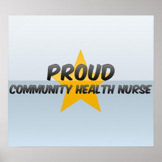 Proud Community Health Nurse Posters