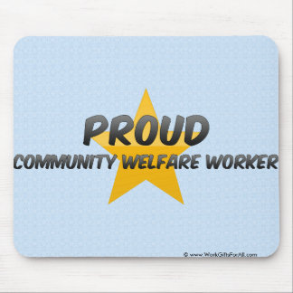 Proud Community Welfare Worker Mouse Pad