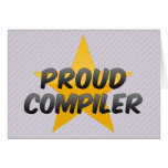 Proud Compiler Cards