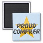 Proud Compiler Fridge Magnets