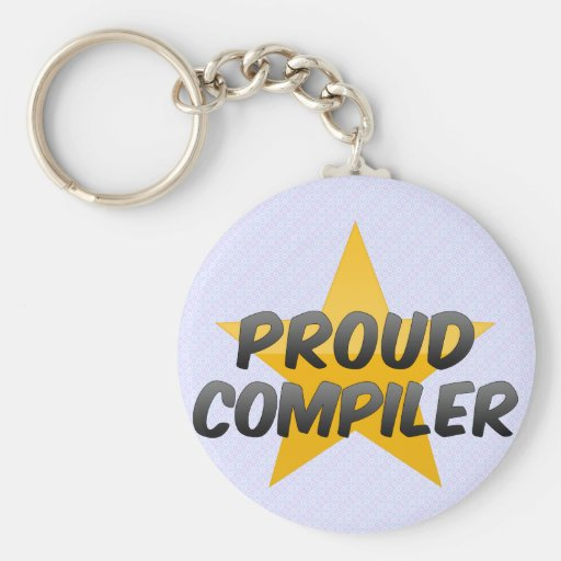 Proud Compiler Keychain