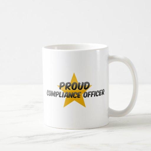 Proud Compliance Officer Coffee Mugs