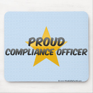 Proud Compliance Officer Mouse Pad