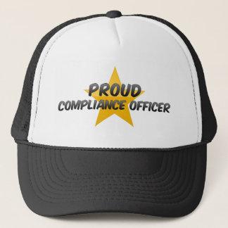 Proud Compliance Officer Trucker Hat