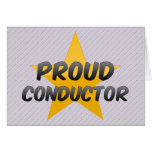 Proud Conductor Cards