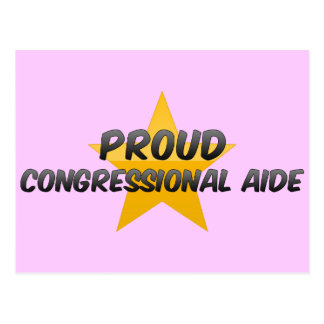 Proud Congressional Aide Postcard