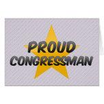 Proud Congressman Card