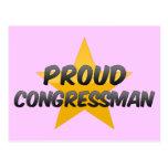 Proud Congressman Postcard