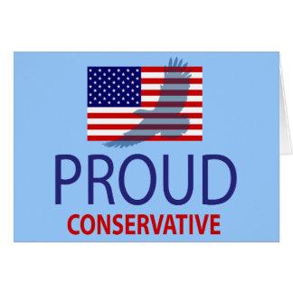 Proud Conservative Card