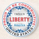 Proud Conservative Coasters