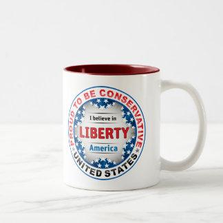 Proud Conservative Coffee Mug