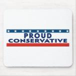 Proud Conservative Mouse Pads