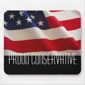 Proud Conservative mousepad
