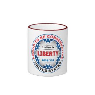 Proud Conservative Mug