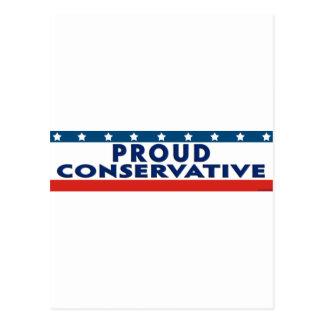 Proud Conservative Postcard